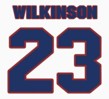 National Hockey player Neil Wilkinson jersey 23 by imsport