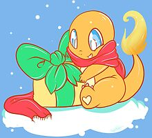 Merry Christmas Charmander by Ishmi