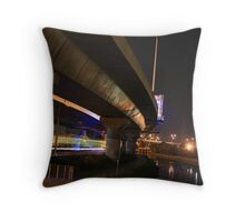 The Night Moves You 2, Melbourne  - www.canvasmyphotos.net Throw Pillow
