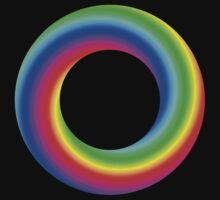 Colour Donut #2 by Dave Pearson
