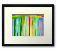 The Lake in the Mirror Framed Print