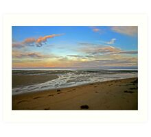 Abel Tasman Sunset Art Print