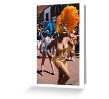 Carnival Time Greeting Card