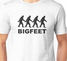 Big Feet Bigfoot Unisex T-Shirt