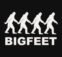 Big Feet Bigfoot by TheShirtYurt