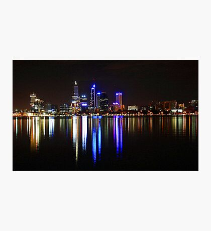 Perth The City Of Lights Photographic Print