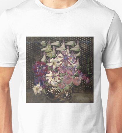 Charles Rennie Mackintosh - Petunias Unisex T-Shirt