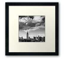 Empire State Building, Study X Framed Print