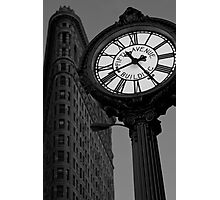Tiffany Clock Photographic Print