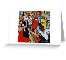Latino Jazz Greeting Card