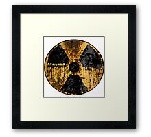 Stalker Radiation Symbol Framed Print