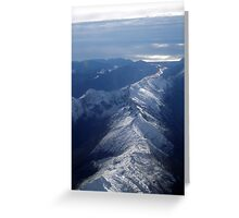 Mountain Tops Greeting Card