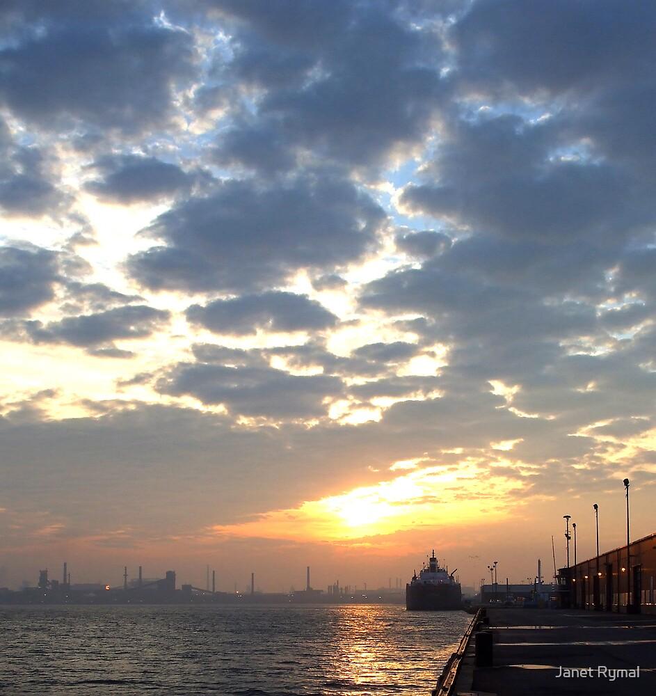 Harbour Dawn by Janet Rymal