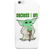 Badass Yoda iPhone Case/Skin