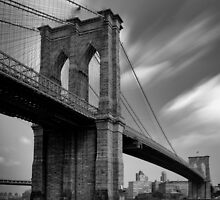 Brooklyn Bridge Over Time by Randy  Le'Moine