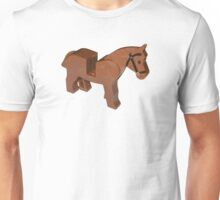 Toy Brick Horse Unisex T-Shirt