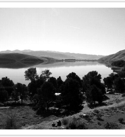 Black And White Landscape 6  Sticker