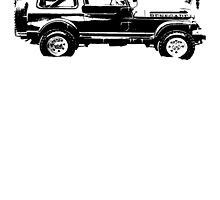 Jeep Renegade 1982 by garts