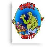 Zombie Buffet Canvas Print
