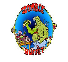 Zombie Buffet Photographic Print