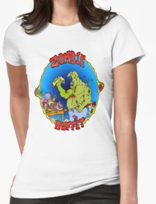 Zombie Buffet Womens Fitted T-Shirt