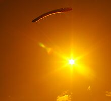 Parachuting Sun by mtamer