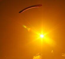 Parachuting Sun by mtamer
