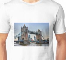 Tower Bridge And The City 2 - HDR Unisex T-Shirt