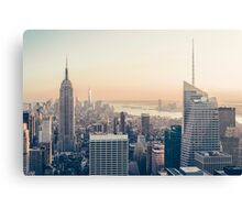 New York Sunset Canvas Print