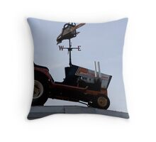 Series:  Weathervanes of New England-  Chain Saw of Events Throw Pillow