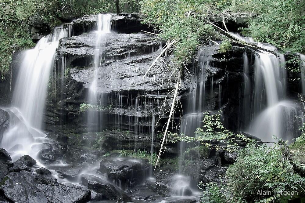 Roland Falls by Alain Turgeon