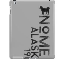 Nome, Alaska (Dark Silhouette Version) iPad Case/Skin
