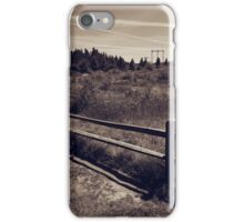 Casual Fence iPhone Case/Skin