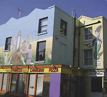 Painted building by gothgirl