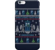 Wibbly Wobbly Timey Wimey Christmas iPhone Case/Skin