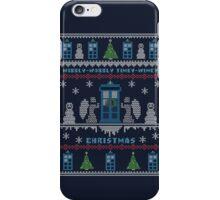 Wibbly Wobbly Timey Wimey Christmas iPhone Case/Skin