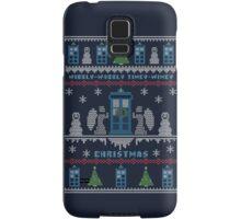 Wibbly Wobbly Timey Wimey Christmas Samsung Galaxy Case/Skin