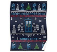 Wibbly Wobbly Timey Wimey Christmas Poster