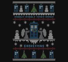Wibbly Wobbly Timey Wimey Christmas Kids Tee