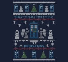 Wibbly Wobbly Timey Wimey Christmas Kids Clothes
