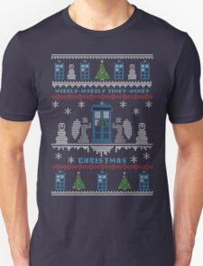 Wibbly Wobbly Timey Wimey Christmas Unisex T-Shirt