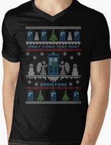 Wibbly Wobbly Timey Wimey Christmas Mens V-Neck T-Shirt