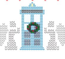Wibbly Wobbly Timey Wimey Christmas Sticker