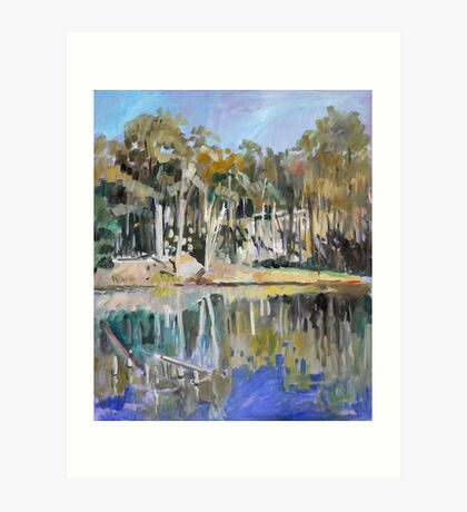 Hemmant Reserve Impression Art Print