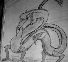Dragon in my Book  by Zeanana