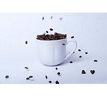 Cup of coffee, still life Photographic Print