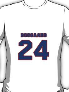 National Hockey player Derek Boogaard jersey 24 T-Shirt