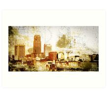 Cleveland - Rock City Art Print