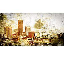 Cleveland - Rock City Photographic Print