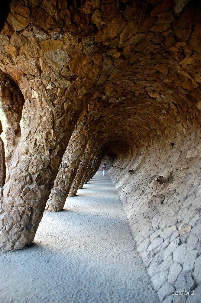Gaudi's Garden, Barcelona, Spain - 1st Oct 2007 by aaxford